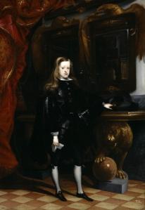 Carlos II, por Carreño Miranda